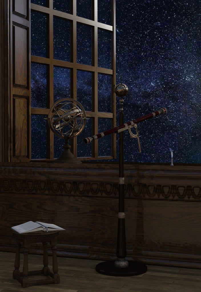 Telescopes à travers le temps